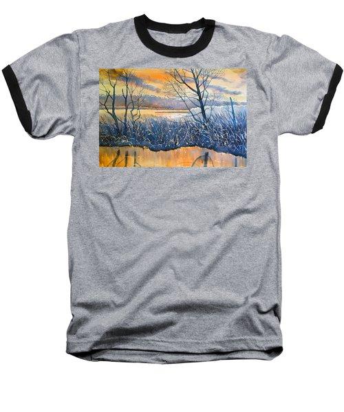 Rhapsody In Gold Baseball T-Shirt
