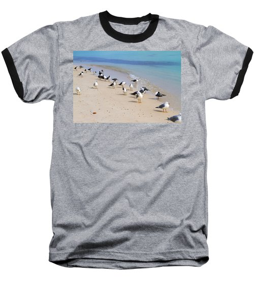 Rhapsody In Seabird Baseball T-Shirt