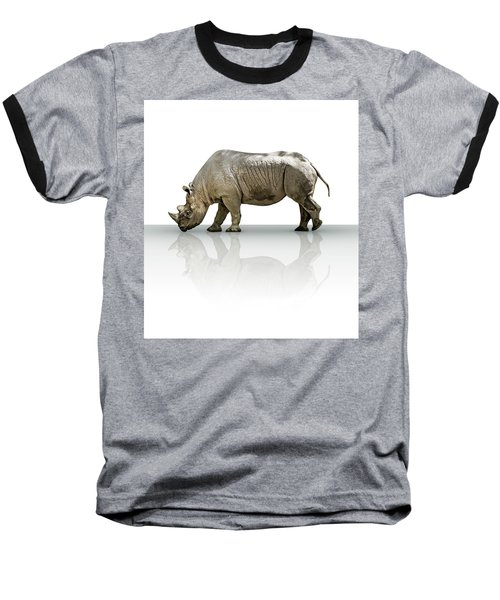 Rhinoceros Baseball T-Shirt