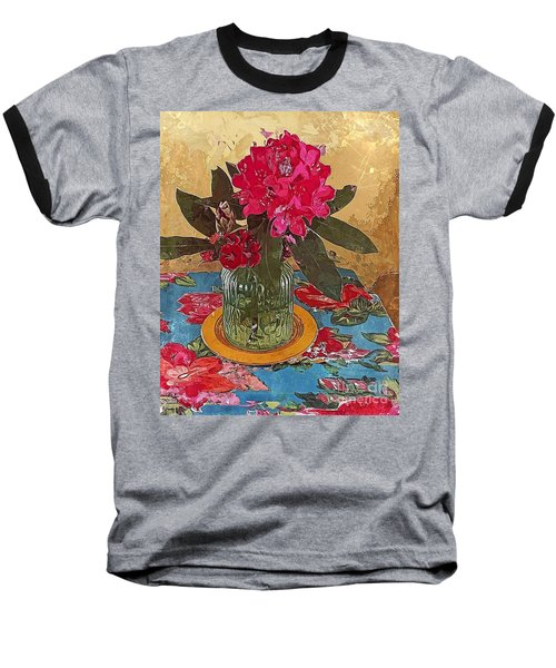 Rhododendron Baseball T-Shirt by Alexis Rotella