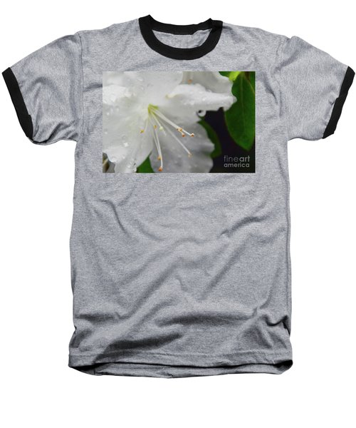Rhododendron Blossom Baseball T-Shirt