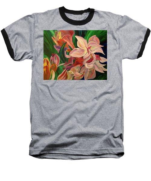 Rhododendron Baseball T-Shirt