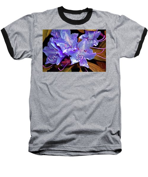Rhododendron Glory 6 Baseball T-Shirt