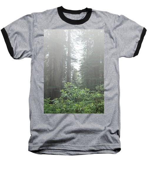 Rhododendrons In The Fog Baseball T-Shirt