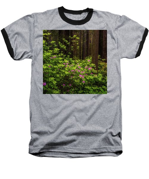 Rhododendrons Baseball T-Shirt