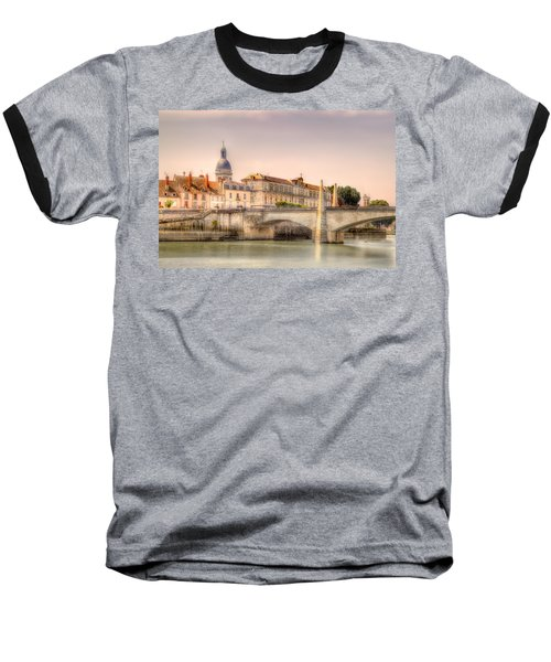 Bridge Over The Rhone River, France Baseball T-Shirt