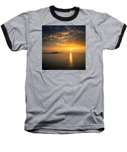 Rhosili 1 Baseball T-Shirt