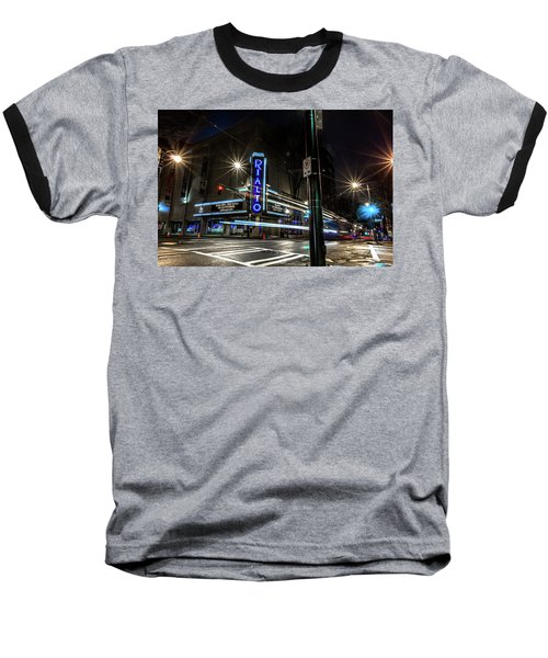 Rialto Theater Baseball T-Shirt