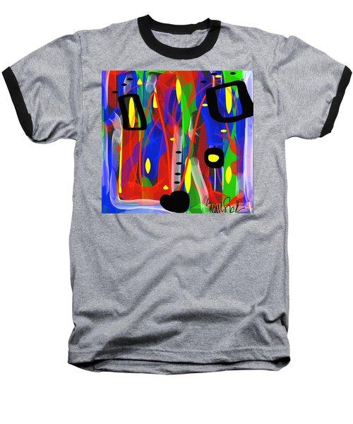 Ribbon Of Thought Baseball T-Shirt