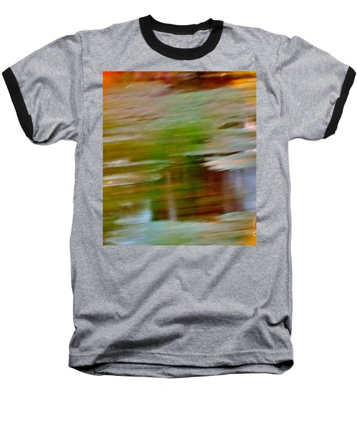 Baseball T-Shirt featuring the digital art Rice Lake by Patricia Schneider Mitchell