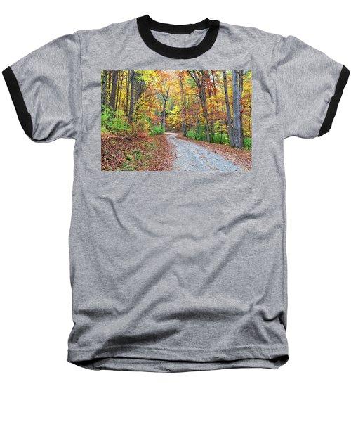 Rich Mountain Road Baseball T-Shirt