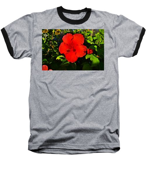 Rich Red  Baseball T-Shirt