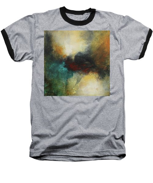 Rich Tones Abstract Painting Baseball T-Shirt