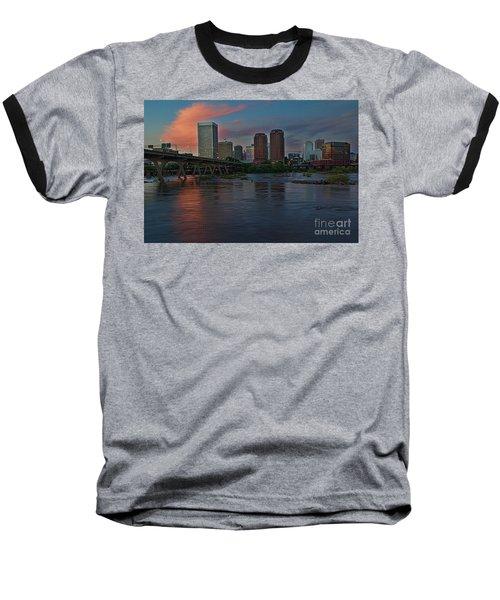 Richmond Dusk Skyline Baseball T-Shirt
