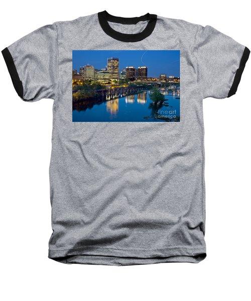 Richmond Skyline Helo Trail Baseball T-Shirt