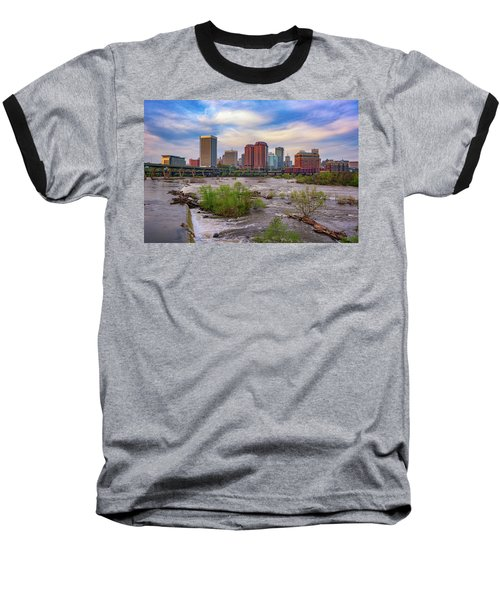 Richmond Skyline Baseball T-Shirt