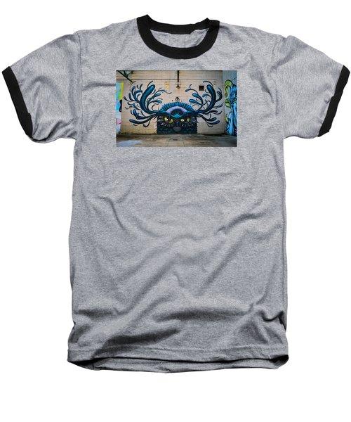 Richmond Street Art Baseball T-Shirt