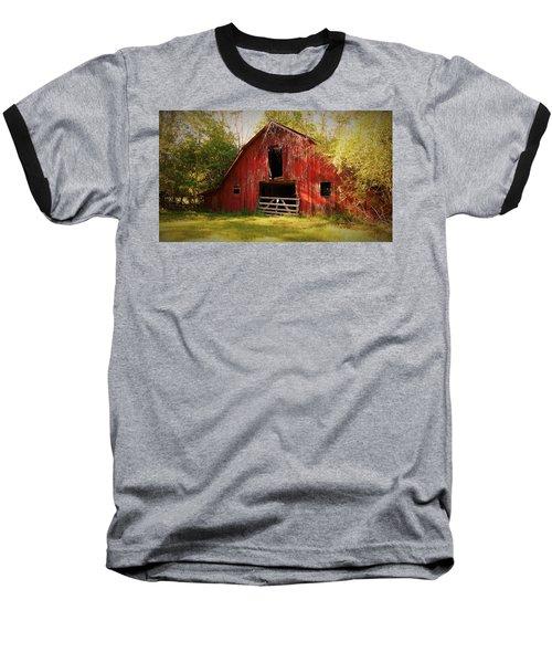 Baseball T-Shirt featuring the photograph Richton Barn I by Lanita Williams