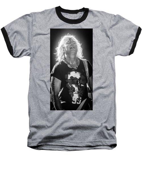 Rick Savage Baseball T-Shirt by Luisa Gatti