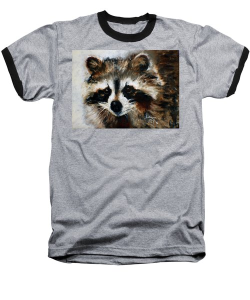 Rickey Raccoon Baseball T-Shirt