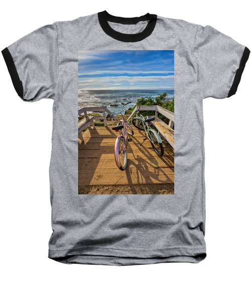 Ride With Me To The Beach Baseball T-Shirt