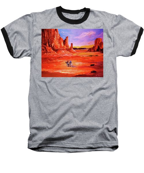 Riders In The Valley Of The Giants Baseball T-Shirt
