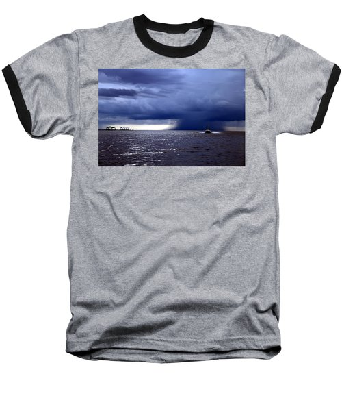 Riders On The Storm Baseball T-Shirt by Rdr Creative