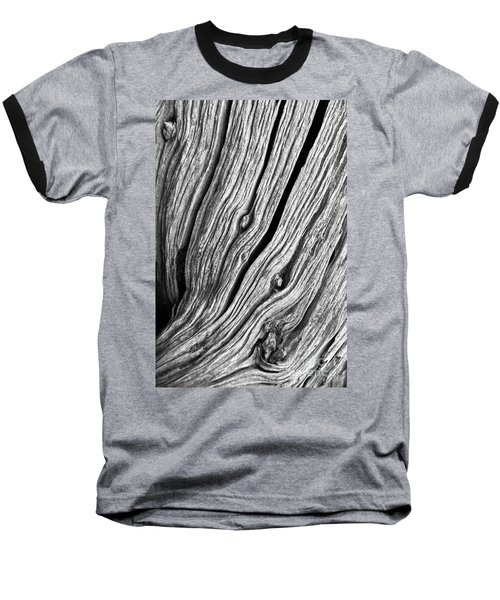 Baseball T-Shirt featuring the photograph Ridges - Bw by Werner Padarin