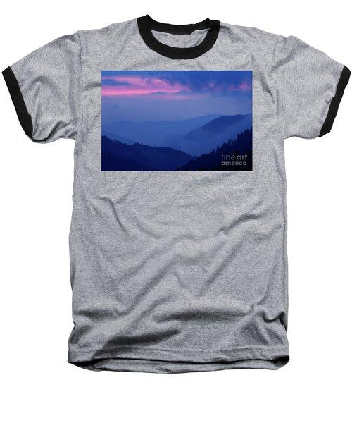 Baseball T-Shirt featuring the photograph Ridges - D000023 by Daniel Dempster