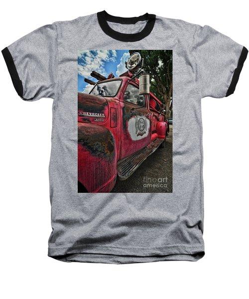 Ridgway Fire Truck Baseball T-Shirt