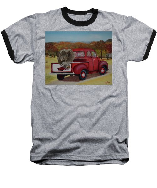 Ridin' With Razorbacks Baseball T-Shirt
