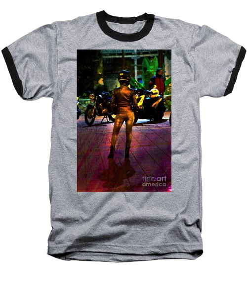 Baseball T-Shirt featuring the photograph Riding Companion II by Al Bourassa