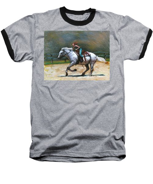 Riding Dollar Baseball T-Shirt