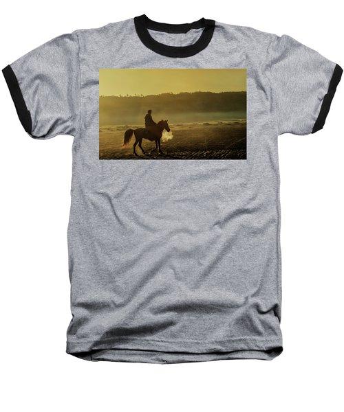 Riding His Horse Baseball T-Shirt