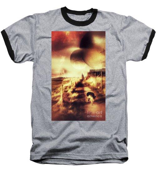 Riding Offworld Baseball T-Shirt