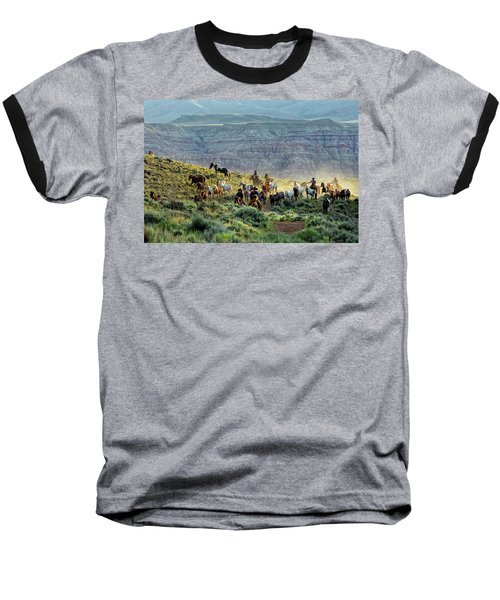 Riding Out Of The Sunrise Baseball T-Shirt