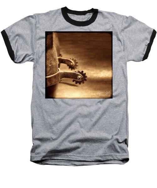 Riding Spurs Baseball T-Shirt