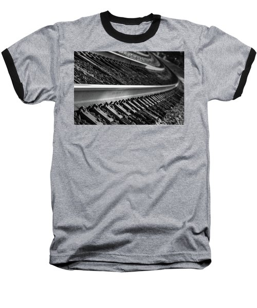 Riding The Rail Baseball T-Shirt