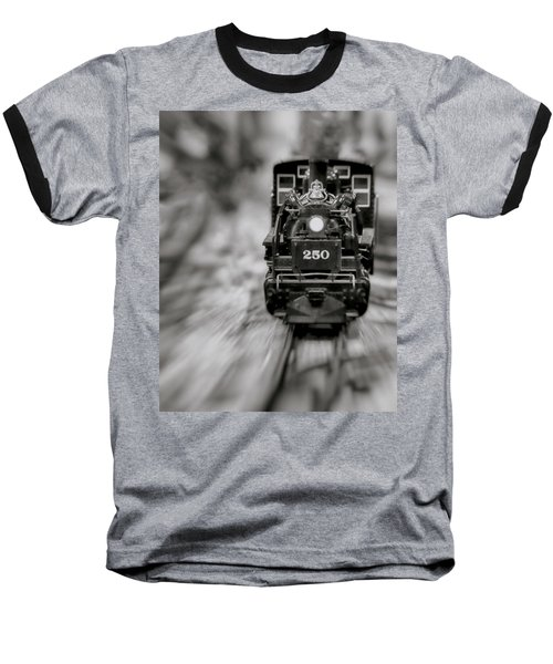 Riding The Railways Baseball T-Shirt