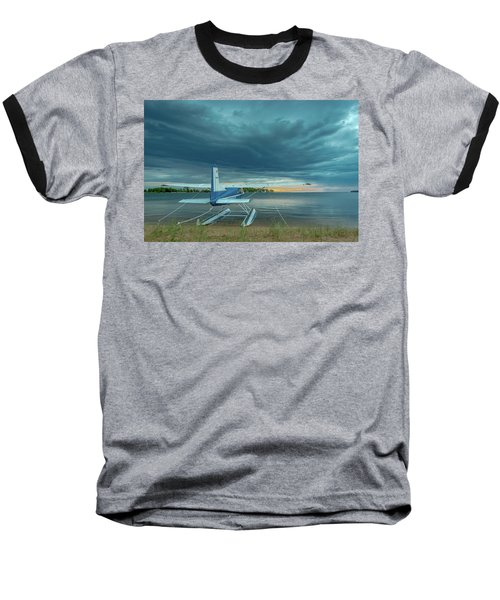Riding The Storm Out Baseball T-Shirt