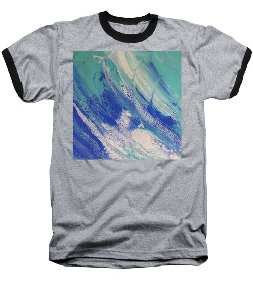 Riding The Wave Baseball T-Shirt