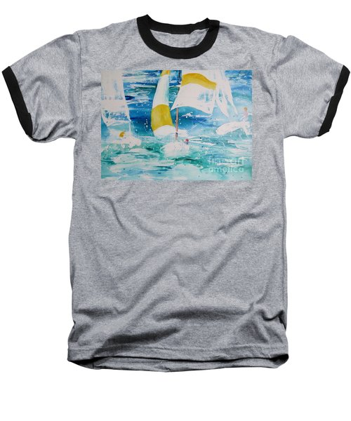 Riding The Wind Baseball T-Shirt