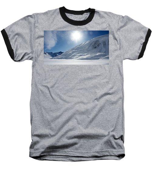 Baseball T-Shirt featuring the photograph Rifflsee by Christian Zesewitz