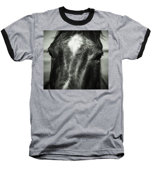 Baseball T-Shirt featuring the photograph Right Between The Eyes by Jason Moynihan