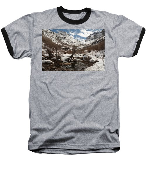 Baseball T-Shirt featuring the photograph Right Fork Canyon by Jenessa Rahn