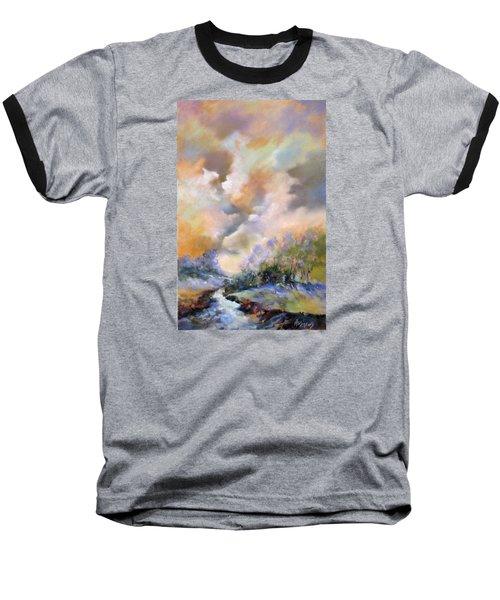 Rim Light Baseball T-Shirt by Rae Andrews