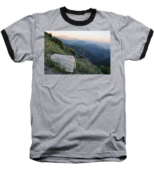 Rim O' The World National Scenic Byway Baseball T-Shirt by Kyle Hanson