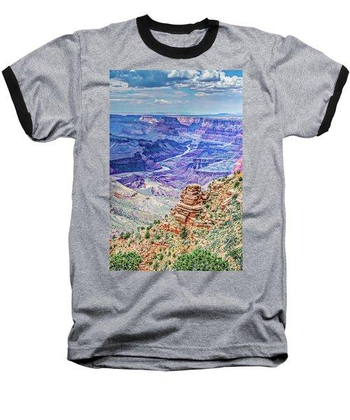 Rim Shot Baseball T-Shirt by Mark Dunton