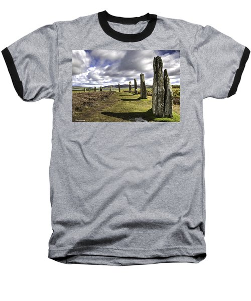 Ring Of Brodgar Baseball T-Shirt