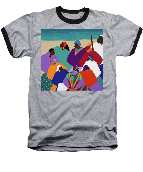 Ring Shout Gullah Islands Baseball T-Shirt